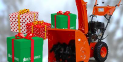Vinge loosimäng Facebookis Peaauhinnaks bensiinimootoriga lumepuhur!